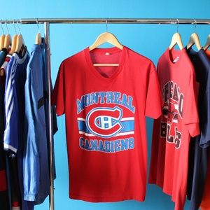 Vintage 1988 NHL Montreal Canadiens T-Shirt